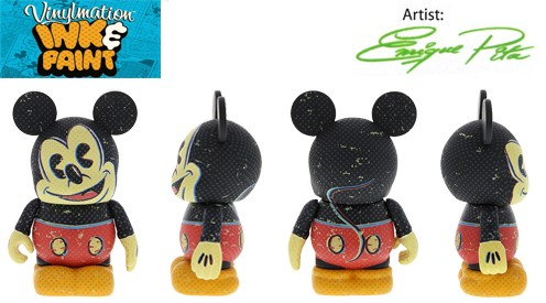 ink and paint Mickey Mouse