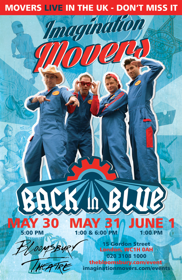 Imagination Movers Back in Blue