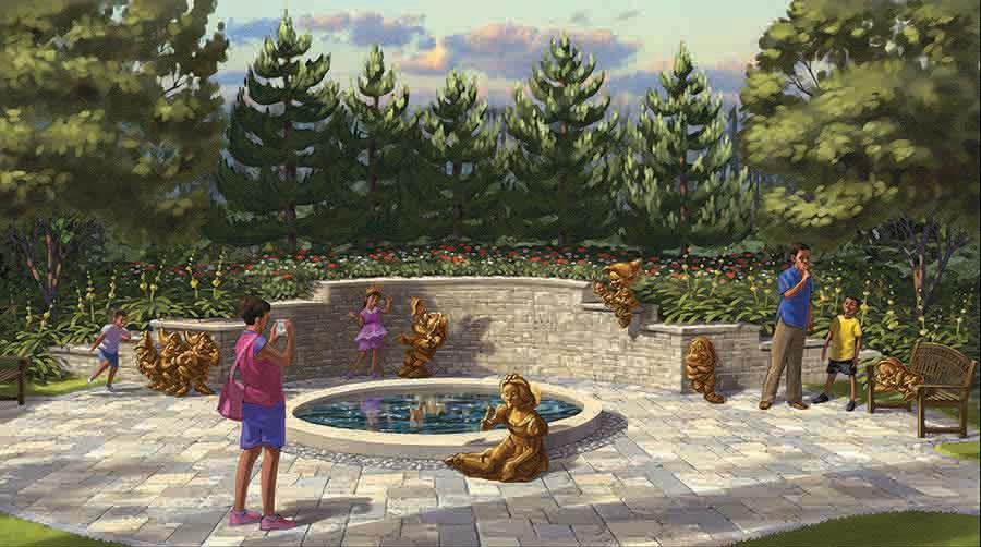 Golden Oaks Snow White Pool
