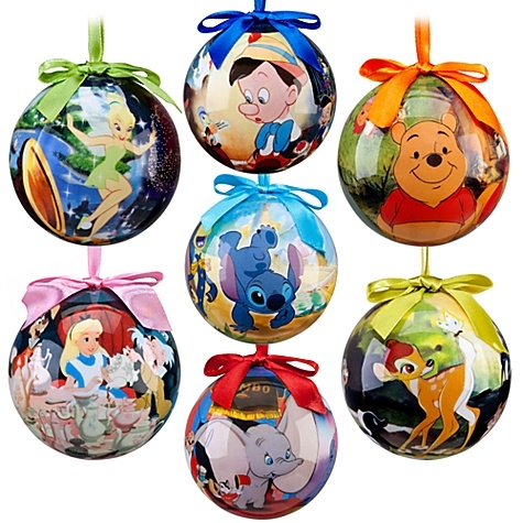 World of Disney Ornament Set - 7-Pc. Stock