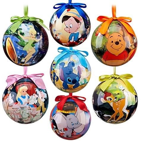 World of Disney Ornament Set - 7-Pc. Stock