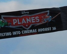 Aerial advertising for Planes