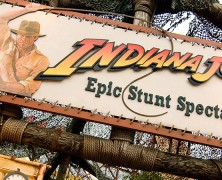 Indiana Jones to close in January 2015?