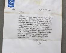 The Invitation to Carlos – Document