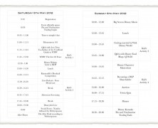 Mousemeets 2012 Itinerary Update