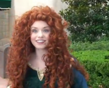 Merida Test Meet & Greets in Epcot