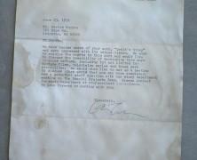 Walt Disney Production Memo – Document