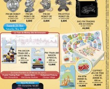 Disneyland Paris Pin Releases – May 2012