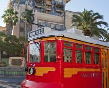 Red Car Trolleys Now Testing at Disney's California Adventure Park
