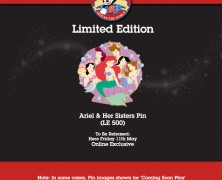 Disney Store UK Pin Release – May 2012